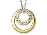 Inori Stainless Steel Pendant with Cubic Zirconia (CZ) style: INP89B