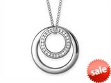 Inori Stainless Steel Pendant with Cubic Zirconia (CZ) style: INP89A