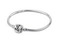 SilveRado™ CH20-M-A Sterling Silver 3.0 mm 7.9 inches Pandora Compatible Bead Bracelet
