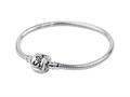 SilveRado™ CH22-M-A Sterling Silver 3.0 mm 8.7 inch Pandora Compatible Bead Bracelet