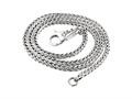 SilveRado FTN001-45 Necklace Sterling Silver 3.0 mm 45 cm(17.7 inch Pandora Compatible Bead / Charm