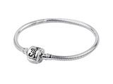 SilveRado CH18-M-a Sterling Silver 3.0 mm 7 inch Pandora Compatible Bead Bracelet