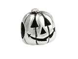 SilveRado™ Sterling Silver Pumpkin Bead / Charm style: MS315