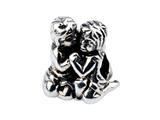 SilveRado MS551 Sterling Silver Boy and Girl Bead / Charm