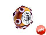 SilveRado™ AD2-08 Murano Glass Lady Marmalade Bead / Charm style: AD2-08