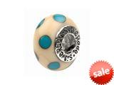 SilveRado™ AD26 Murano Glass Ivory Coast Bead / Charm style: AD26