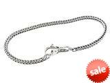 SilveRado™  Sterling Silver 3.0mm 8.3 inch Pandora Compatible Bead Bracelet style: B-FTB001-21