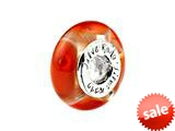 SilveRado™ BB01 Murano Glass Love Shack Bead / Charm