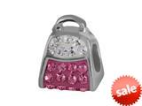 SilveRado™ BK006-2-1 Bling Kidz Handbag Bling Pink Bead / Charm style: BK006-2-1