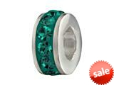 SilveRado™ BM005-5 Bling-Single Bling Green