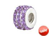 SilveRado™ BM007-7 Bling-Triple Bling Purple style: BM007-7