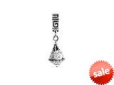 SilveRado™ BM021-1 Bling Dangle Bling White Bead / Charm