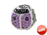 SilveRado™ BM033-7-0 Bling-Lady Bird Purple style: BM033-7-0