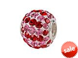 SilveRado™ BMT001-1 Bling-Red and Pink Spiral style: BMT001-1