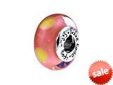 SilveRado™ CCD15 Murano Glass Sienna Bead / Charm style: CCD15
