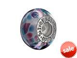 SilveRado™ CF05 Murano Glass Aqua Zone Pandora Compatible Bead / Charm style: CF05