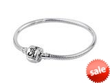 SilveRado™ CH22-M-A Sterling Silver 3.0 mm 8.7 inch Pandora Compatible Bead Bracelet style: CH22-M-A