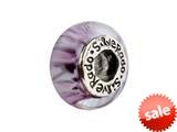 SilveRado™ F09 Murano Glass Risque Bead / Charm style: F09