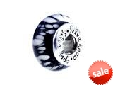 SilveRado™ F35 Murano Glass Night Flight Bead / Charm