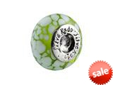 SilveRado™ FF04 Murano Glass Lime Soda Bead / Charm
