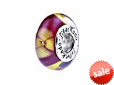 SilveRado™ FL15 Murano Glass Tropical Treasure Pandora Compatible Bead / Charm style: FL15