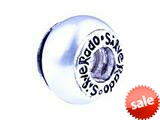 SilveRado™ GP01 Murano Glass Cream Color Pandora Compatible Bead / Charm style: GP01