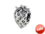 SilveRado™ MAU003 Sterling Silver Strawberry Bead / Charm