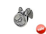 SilveRado™ MAU018 Sterling Silver Time Flies Pandora Compatible Bead / Charm style: MAU018