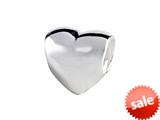 SilveRado™ MAU026 Sterling Silver Double Heart Bead / Charm style: MAU026