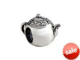SilveRado™ MAU031 Sterling Silver Teapot Bead / Charm style: MAU031