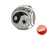 SilveRado™ MCB014 Bling Yin Yang Bead / Charm style: MCB014