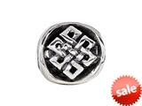 SilveRado™ MIB018 Sterling Silver Celtic Knot Charm Bead / Charm style: MIB018