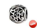 SilveRado™ MIB038 Sterling Silver Celtic Spiral Celts Bead / Charm style: MIB038