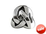 SilveRado™ MIB078 Sterling Silver Celtic Modern Infinite Knot Bead / Charm style: MIB078