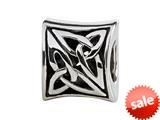 SilveRado™ MIB083 Sterling Silver Celtic Trinity Bead / Charm style: MIB083