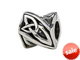 SilveRado™ MIB103 Sterling Silver Celtic Infinitely Twisted Bead / Charm style: MIB103
