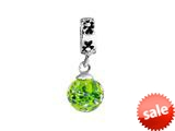 SilveRado™ MMD001 Murano Glass Dangle Ball Enchanted Forest Pandora Compatible Bead / Charm style: MMD001