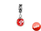 SilveRado™ MMD020 Murano Glass Dangle Ball Beauty Queen Bead / Charm style: MMD020