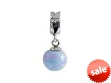 SilveRado™ MMD022 Murano Glass Dangle Ball Anastasia Pandora Compatible Bead / Charm style: MMD022