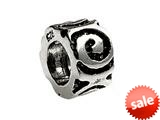 SilveRado™ MS022 Sterling Silver Eternal Spacer Pandora Compatible Bead / Charm style: MS022