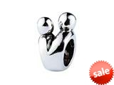 SilveRado™ MS033 Sterling Silver Lovers Bead / Charm