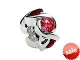 SilveRado™ MS050-5GA Sterling Silver Select Stone-Garnet style: MS050-5GA
