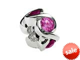 SilveRado™ MS050-5PT Sterling Silver Select Stone-Pink Tourmaline style: MS050-5PT