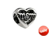 SilveRado™ MS064 Sterling Silver Mom Bead / Charm style: MS064