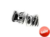 SilveRado™ MS091 Sterling Silver Love Mom Pandora Compatible Bead / Charm style: MS091