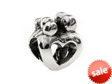 SilveRado™ MS097 Sterling Silver Family of 5 Bead / Charm style: MS097