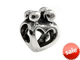 SilveRado™ MS098 Sterling Silver Family of 4 Bead / Charm style: MS098
