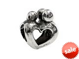 SilveRado™ MS099 Sterling Silver Family of 3 Bead / Charm style: MS099