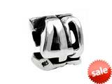 SilveRado™ MS180 Sterling Silver 40 Bead / Charm style: MS180