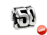 SilveRado™ MS181 Sterling Silver 50 Bead / Charm style: MS181